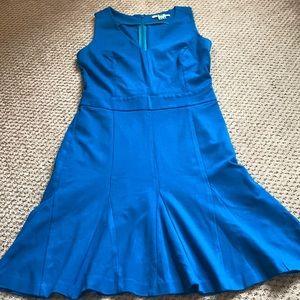 Teal flouncy dress